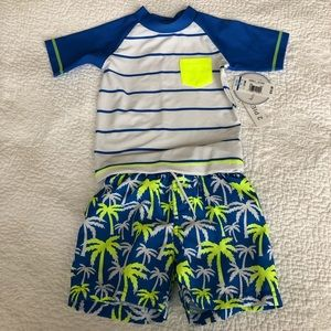 Koala Kids 12-18m 2pc Swim Set NWT